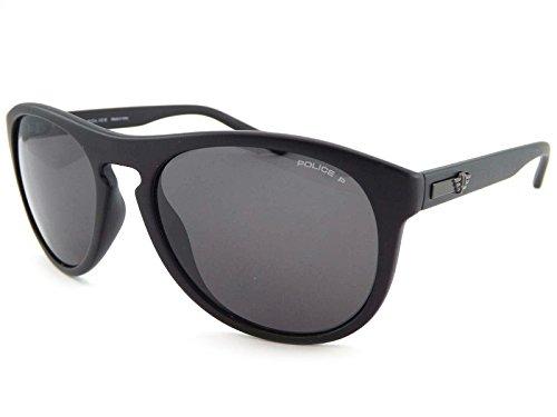 Police Astral 2 Gafas de sol polarizadas de satén negro ...