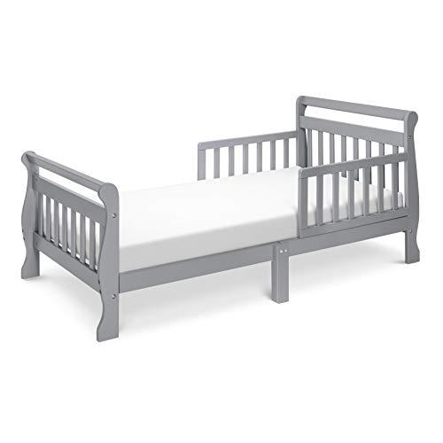 DaVinci Sleigh Toddler Bed, Grey