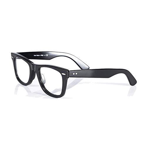 - Eileen&Elisa Acetate Retro Rectangle Glasses Frames for Men/Women Optical Eyeglasses Frame with Non Prescription Lens
