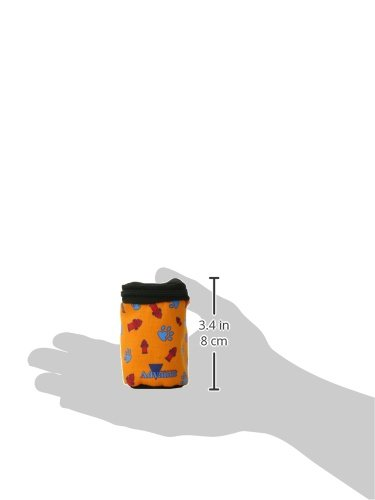 Coastal-Pet-Products-DCP8005-Advance-Waste-Bag-Dispenser-3-by-2-Inch-Orange-Fire-Hydrant