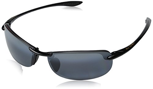 Amazon.com  Maui Jim Unisex Makaha Readers Gloss Black Neutral Grey  Lens 2.5 Lens +2.50  Maui Jim  Clothing fc9b4b3179d3