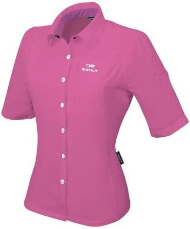 Eider senderismo blusa TIKALI, mujer, color Rojo - multicolor (Very Berry), tamaño 38 [DE 36]: Amazon.es: Deportes y aire libre