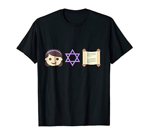 (Bat Mitzvah Girl t-shirt Jewish Tradition Ceremony Mazel Tov)