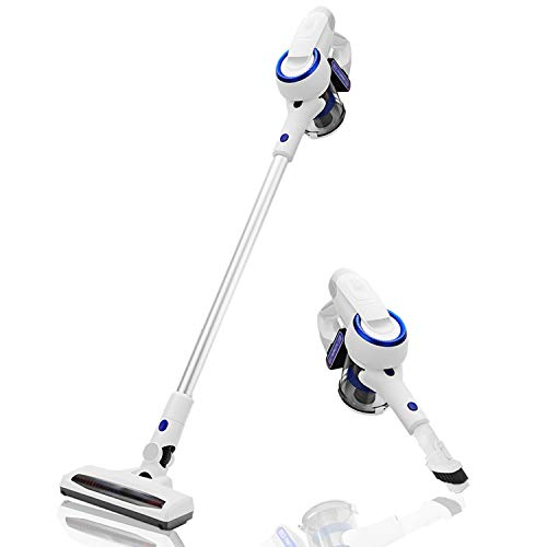 Vanergy Cordless Vacuum Cleaner, Stick Vacuum 2 in 1, 150W Brushless Motor, 5 Stage Hepa Filter, Detachable Lithium Battery & Ultra-Wide Roller Brush, for Deep Cleaning and Pet Owner (Best Budget Vacuum Cleaner 2019)