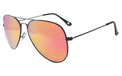 (Detour Sunglasses Oasis Purple Haze Lens UV400 Polarized Sunglasses w/Pouch for Men and Women)
