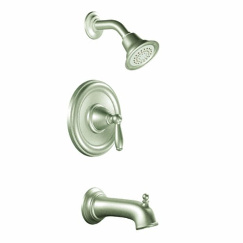 Moen T2153EPBN Brantford PosiTemp Tub and Shower Trim Kit without Valve, Brushed Nickel
