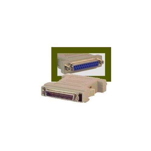 SCSI Adapter DB25 Female to DM50 Male by iecables