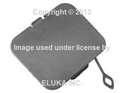 1999 Towing Eye Cover (BMW Genuine Rear Bumper Towing Tow Eye Hook Finisher Cover for X3 2.5i X3 3.0i)