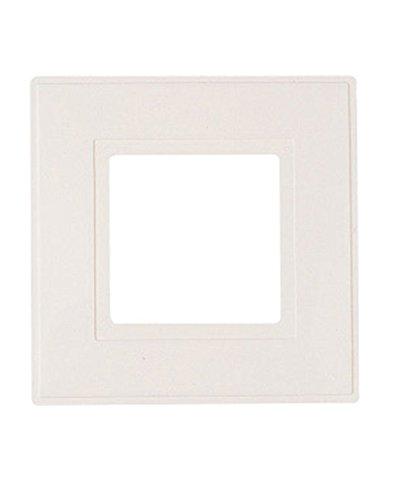 dencon 8804 2p light switch finger plate white pack of 2 amazon