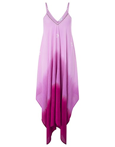 Embellished Dip Dye (Monsoon Sabina Bandini Hanky Hem Dress - Medium)