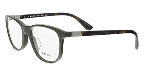 758f272f069d Prada PR29SVF Eyeglass Frames UF81O1-56 - Green - Plastic Frames Eyeglass  Green