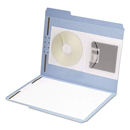 (SMD68144 - Description : Top Flap Pocket - Smead Self-Adhesive Poly CD/Diskette Pockets - Pack of 10 )