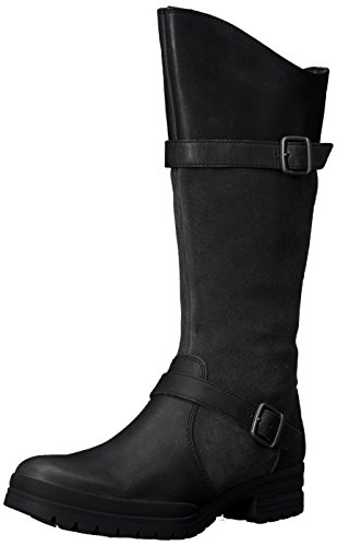 Merrell Women's City Leaf Tall Snow Boot, Black, 10 M US