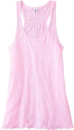Bella 8800 Womens Flowy Racerback Tank - Soft Pink Large