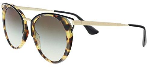 - Prada PR66TS 7S00A7 Medium Havana PR66TS Round Sunglasses Lens Category 2 Size