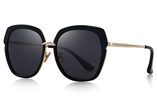 Vintage Sunglasses Designer Oversized - OLIEYE Vintage Oversized Women's Polarized shield Frame Sunglasses O6371