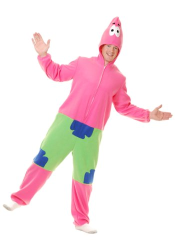 Patrick The Starfish (Starfish Adult Costume - Large)