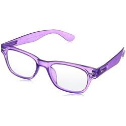 Peepers Rainbow Bright Fashion Retro Eyeglasses,Purple,45 mm