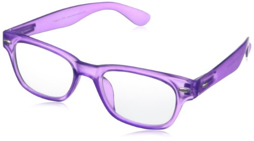 Peepers Rainbow Bright Retro Eyeglasses,Purple,45 - Eyeglass Frames Rainbow