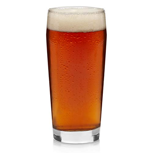 (Libbey Craft Brews Craft Pub Beer Glasses, 20-ounce, Set of 4)
