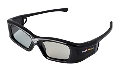 "IncrediSonic Vue Active DLP-Link 3D Glasses ""Rechargeable"""