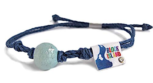 (Earth Bands Block Island Anklet Blue)