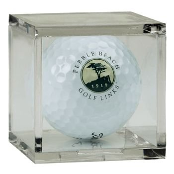 Golf Ball Square - Acrylic Display Case by BallQube (Box of 6 Cubes)