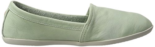 Softinos Olu382sof Washed, Mocassins Femme, Washed/Taupe Vert (Pastel Green 006)