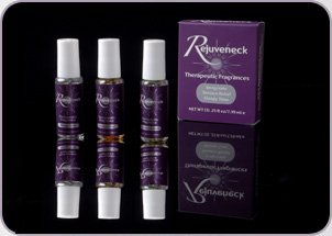 Price comparison product image Rejuveneck Essential Oils Therapeutic Fragrances – Set of 3 Invigorate, Tension Relief, Sleepy Time.