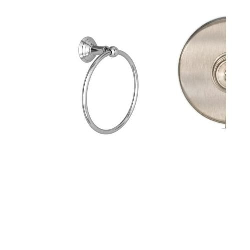 Newport Brass 34-09 Solid Brass Towel Ring from the Aylesbury and Jacobean Colle, Satin Nickel by Newport Brass