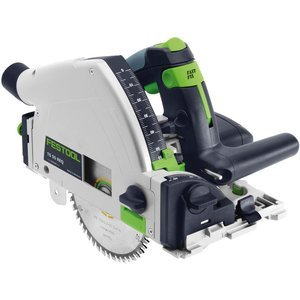 Festool Model TS 55 REQ Plunge Cut Saw with T-Loc and Rail (Festool Circular Plunge Cut Saw)