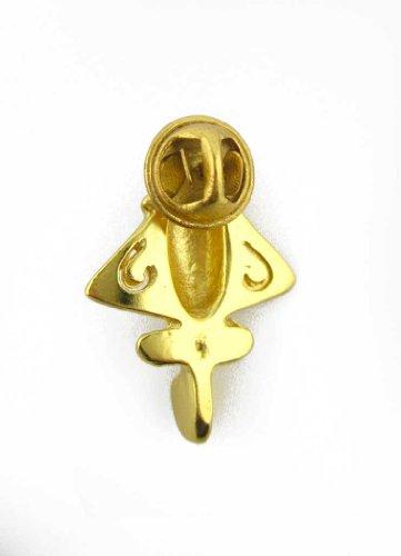 Earrings Astronauts & Space Travel Smart Across The Puddle 24k Gp Ancient Aliens Flyer/golden Jet-9 Dangle Earrings