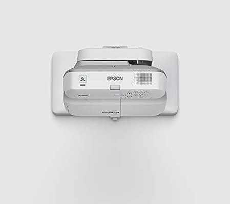 Epson EB-670 Video - Proyector (3100 lúmenes ANSI, 3LCD, XGA (1024x768), 300:1, 4:3, 1422,4 - 2362,2 mm (56 - 93