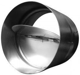 Válvula antirretorno 315 mm Metal tubo de ventilación: Amazon.es: Jardín