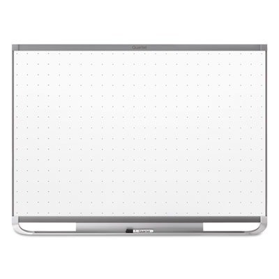 Quartet Prestige 2 Magnetic Total Erase Whiteboard, 72 x 48, Graphite Color Frame by Quartet