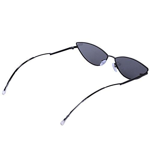 pequeno neutral Negro sol verano sexy rojo rosa Lindo retro neutral de accesorios sol de gafas ojo TOOGOO de de ojo para gato negro uv400 gato gafas v4zFUqn