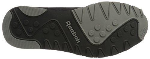 Reebok Classic Nylon Tech Mix, Zapatillas para Hombre Negro (Black/ Medium Grey)