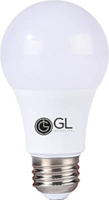 Goodlite G-83352 9W LED A19 Omni Directional 300-Degree 50K Light Bulb, Dimmable, Super White