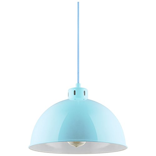 Sunlite CF PD S M Sona Residential Ceiling Pendant Light Fixtures with Medium E26 Base, Mint