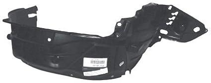 Partslink Number HO1249119 OE Replacement Honda Civic Front Passenger Side Fender Inner Panel