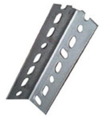 Forney 49650 14 Gauge Slotted Angle Plated Steel, 2-1/4'' x 1-1/2'' x 3' by Forney