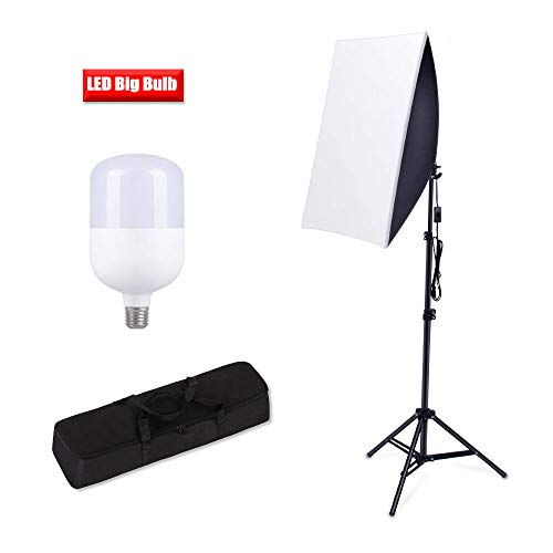 - Softbox Photography Lighting, Heorryn Continuous Softbox Lighting Kit 20