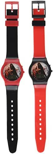Disney Star Wars The Force Awakens Digital Watch (2 Pack), Assorted Colors