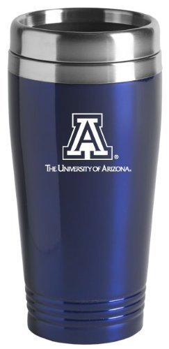 University of Arizona - 16-ounce Travel Mug Tumbler - Blue