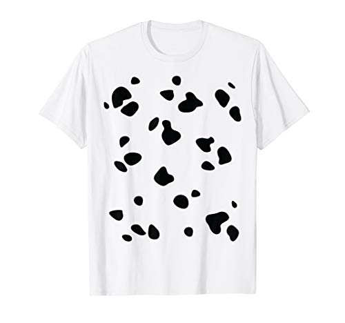 Diy Halloween Costumes Adults (Dalmatian Dog Animal Halloween DIY Costume Funny Shirt)