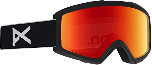 Anon Helix 2 Goggle with Spare Lens, Black Frame Sonarred ()