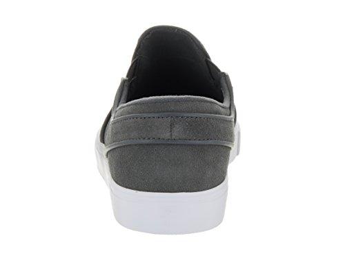 NIKE Unisex Zoom Janoski Slip Elite Cpsl Skateschuh Mitternachtsnebel / Mtlc Field White