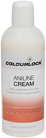 COLOURLOCK Aniline Leather Care Cream to care, protect and waterproof Aniline, waxed, oily or pull up leathers on furniture suite, sofas, settee, shoes, jackets, bags and garments 8.45fl oz