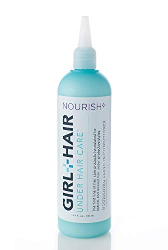 - Girl+Hair Natural Hair Products, Nourish Plus Leave in Conditioner, with Shea Butter & Cocoa Butter, 10.1 fl. oz./ 300 ml