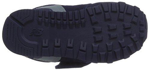 Bleu Kv574cwi Enfant Balance and Navy Hook Sneakers New Mixte Basses Loop M vH6f6nq